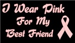 Breast Cancer Support Best Friend Shirts