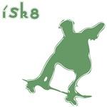 I Sk8 Skateboarding Clothes