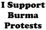 I Support Burma Protests Shirts