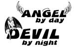 Angel by Day, Devil by Night T-shirt Collection