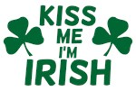 Kiss Me I'm Irish Tshirt