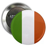 Irish Flag Buttons