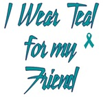 Ovarian Cancer Support Friend Shirts