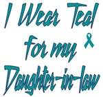 Ovarian Cancer Support Daughter-in-law Shirts