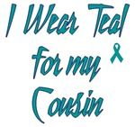 Ovarian Cancer Support Cousin Shirts