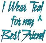 Ovarian Cancer Support Best Friend Shirts