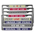 Obama License Plate Frames