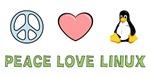Peace Love Linux T-shirts