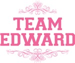 Team Edward T Shirt Pink