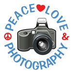 Peace Love Photography Shirts