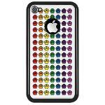 Rainbow Paw Prints On iPhone Cases