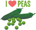 I Love Peas Shirts