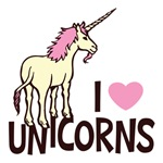 I Love Unicorns Shirts