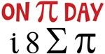 On Pi Day i 8 Sum Pi Shirts