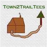 Town2Trail Tees Logo Items