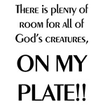 Plenty of Room On My Plate T-Shirts & Gifts