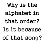 The Alphabet Order