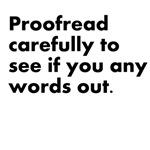 Proof Read