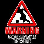 Warning: Soccer Player