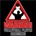 Warning: Volleyball Player