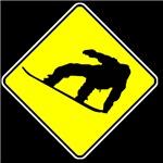 Snowboarder Crossing