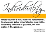 Individuality Quote