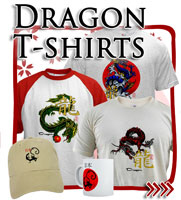 Japanese Dragons T-shirts, Japan Tees