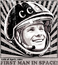 Yuri Gagarin - the first man in Space!!!