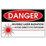 Danger, Invisible Laser Radiation
