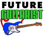 Future Guitarist Blue Guitar