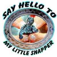 say hello to my little snapper