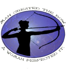 Man created the Bow, A women pefected it