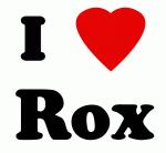 I Love Rox