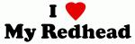 I Love My Redhead