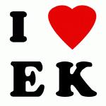 I Love E K