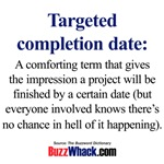 Targeted Completion Date