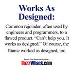 Works as Designed