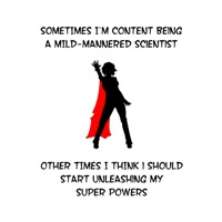 Superheroine Scientist