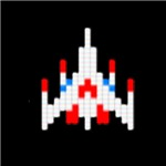 Straight out of the arcade, this Galaga Spaceship t-shirt will bring back fond memories of playing in the arcade for hours on end.  Did you complete