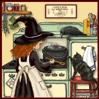 Kitchen Witch Items