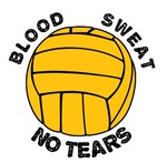 blood sweat and no tears (water polo t-shirt)