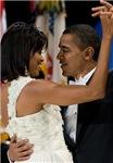 Barack and Michele 2008