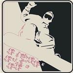 Pop Art Snowboarder