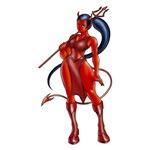 Evil girl