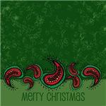 Merry Christmas Paisley