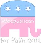 Weepublican for Palin 2012