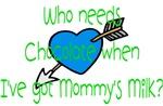 Boy who needs Chocolate when I've got mommy's milk