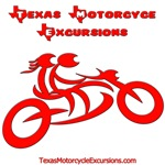 Texas Motorcycle Excursions Red Logo