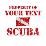 Personalized Scuba Dive Flag