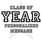 Graduation Personalized Year and Message